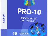 ASTER PRO 10 USERS